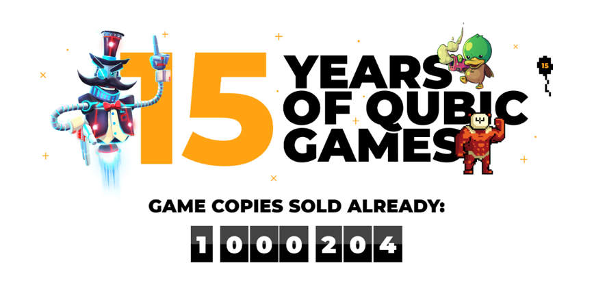 QubicGames przekroczył milion sprzedanych kopii swoich gier na Nintendo Switch 1