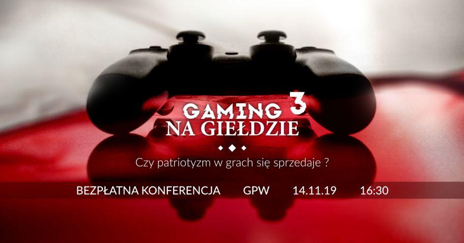 Patriotyczna III edycja Gaming Na Giełdzie tuż po Święcie Niepodległości. 1