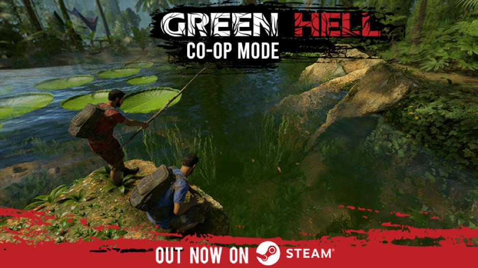 Green Hell: Udana premiera trybu co-op 1