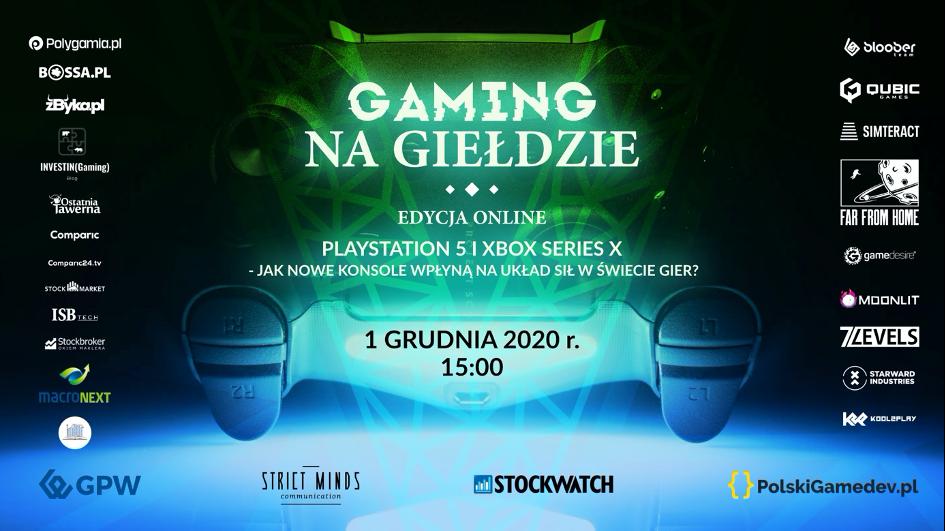 Gaming na Giełdzie: V edycja odbędzie się już za tydzień! 1