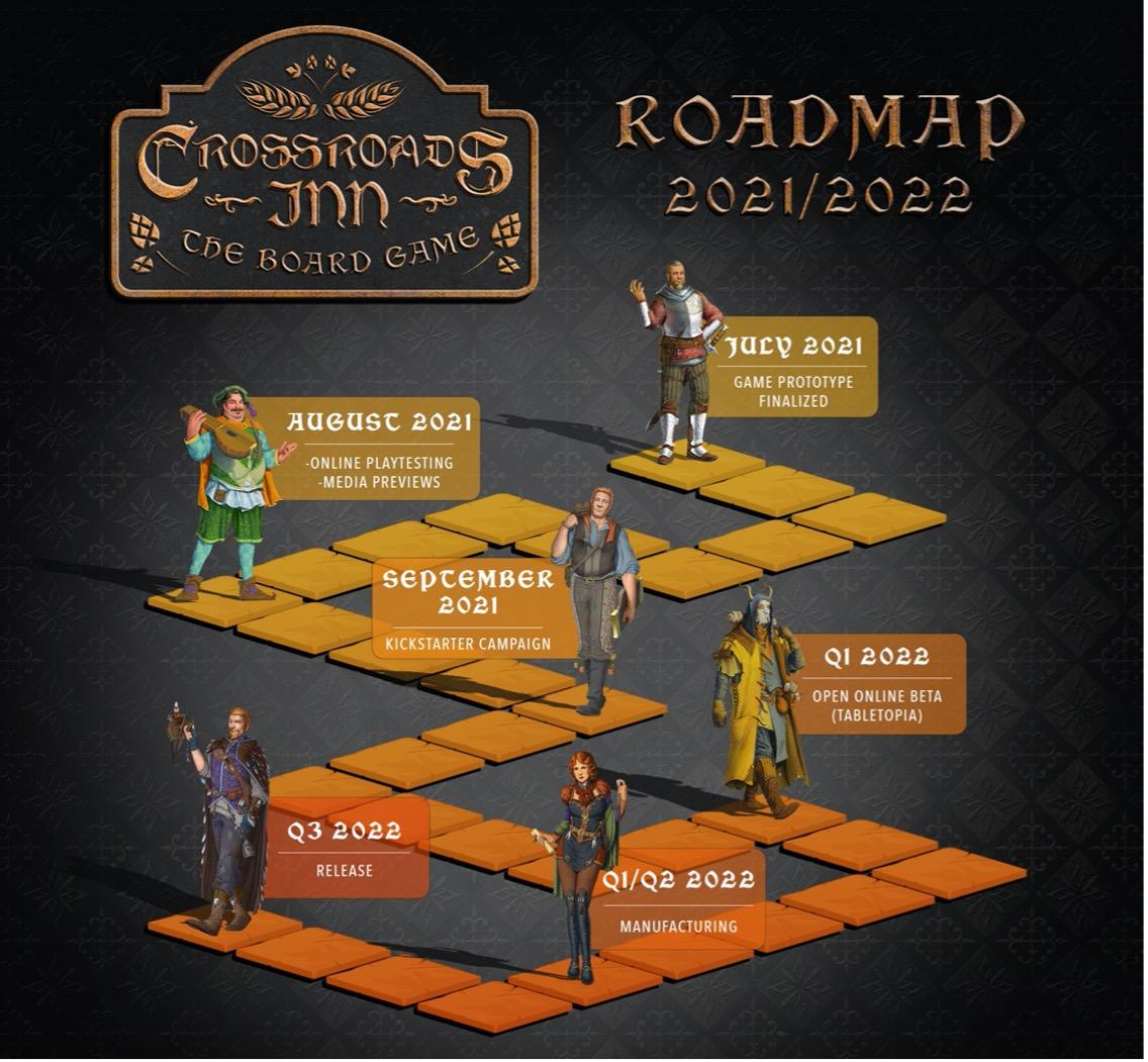 Klabater opracował i wyda grę planszową na podstawie Crossroads Inn 2